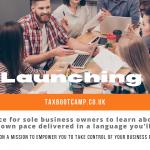 Launching TaxBootCamp.co.uk